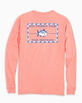 Southern Tide Heathered Original Skipjack Long Sleeve T-shirt