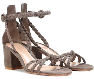 Gianvito Rossi Liya suede sandals