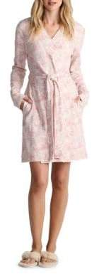 UGG Fitted Floral Print Robe