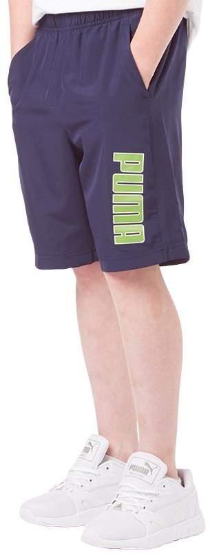 Junior Boys Graphic Woven Bermuda Shorts Peacoat/Green