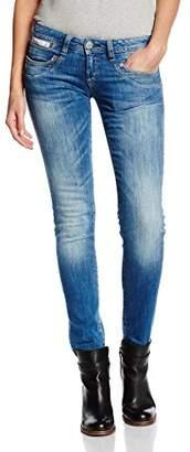 Herrlicher Women's Piper Slim Jeans Trousers Denim Stretch - Blue