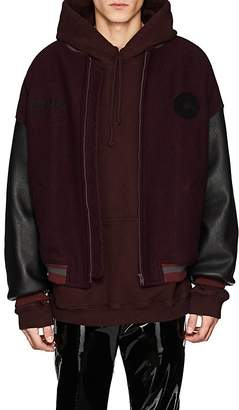 "Yeezy Men's ""Calabasas"" Wool & Leather Varsity Jacket"