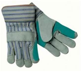 MCR Safety MCR 127-1420A Large Knit Wrist Leatherpalm Glove Gunn Patter