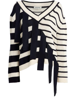 Monse Falling Stripes Sweater