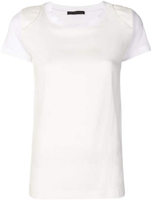 Fabiana Filippi panelled T-shirt