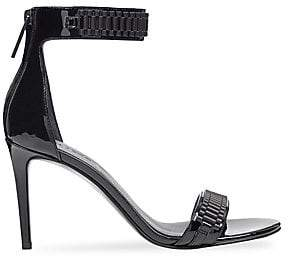 KENDALL + KYLIE Women's Mia Leather Ankle Strap Sandals