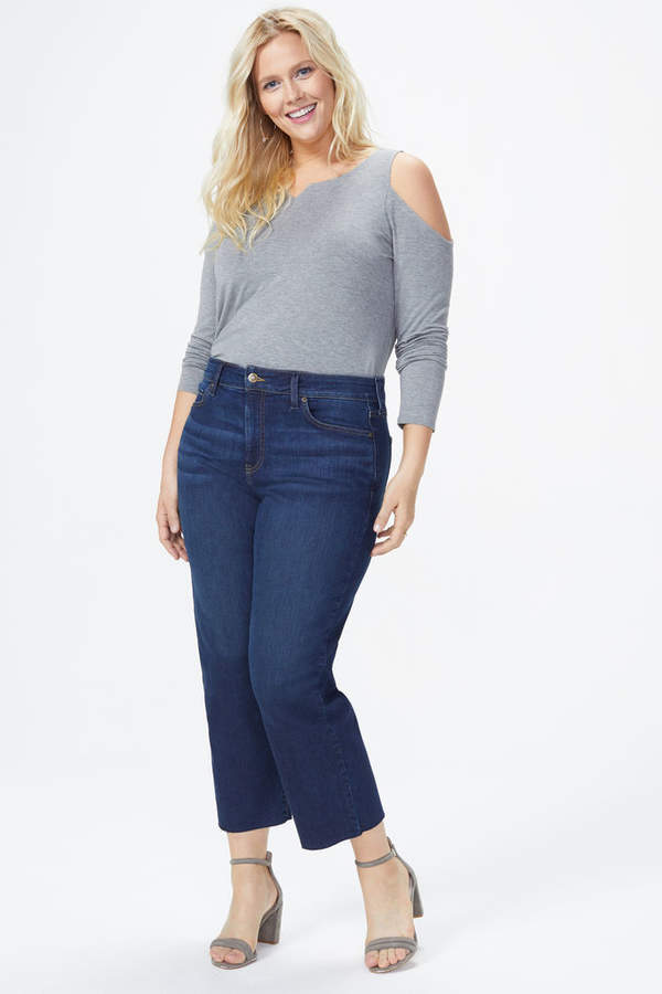 Jenna Straight Ankle Jeans In Plus Size