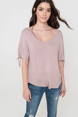 Ardene Loose V-Neck Tee