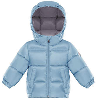 Moncler Hooded Puffer Coat, Size 12M-3