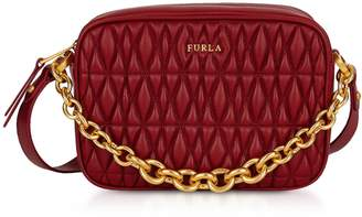 Furla Quilted Leather Cometa Mini Crossbody Bag