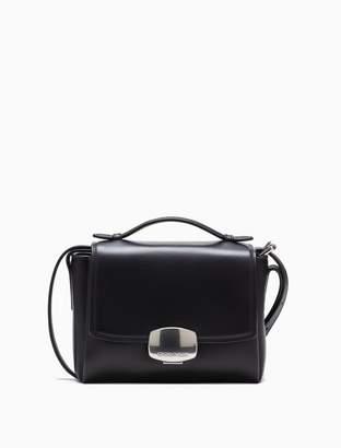 Calvin Klein folded leather small crossbody bag