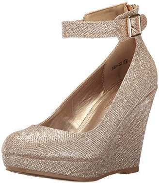 DREAM PAIRS Women's Ash-22 Wedge Pump
