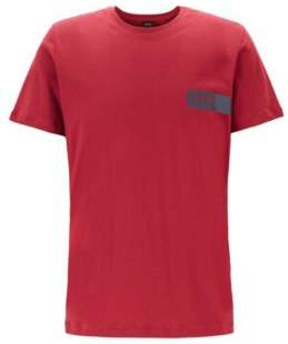 BOSS Relaxed-fit underwear T-shirt with chest logo