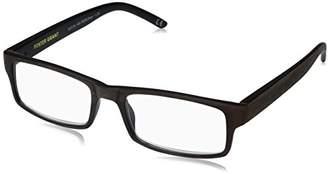 Foster Grant Men's Aiden 1017891-250.COM Rectangular Reading Glasses