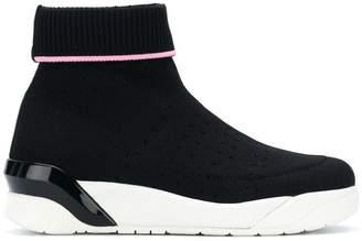 Crime London Moonrock hi-top sneakers
