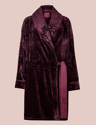 Marks and Spencer Fleece Long Sleeve Dressing Gown