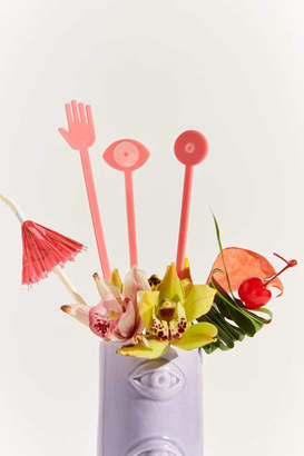 Urban Outfitters Working Girls For Drink Stirrer Set