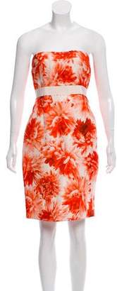 Giambattista Valli Strapless Mini Dress