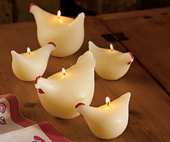 Cheeky Chicken Candles