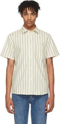 A.P.C. Off-White Striped Bryan Shirt