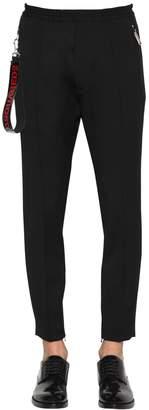 DSQUARED2 Wool Blend Cady Sweatpants