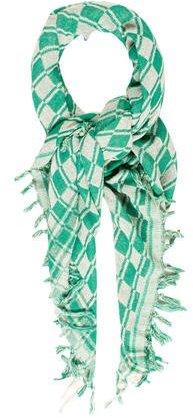 Isabel MarantIsabel Marant Patterned Silk Shawl