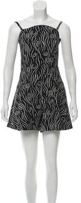 Opening Ceremony Printed Sleeveless Romper w/ Tags