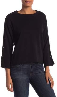 Philosophy Apparel Long Sleeve Studded Sweater