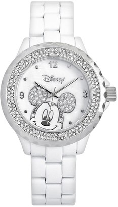 Disney Disney's Mickey Mouse Peekaboo Women's Crystal Watch