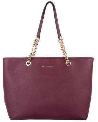 ec27fda79831 Michael Michael Kors Textured-leather Tote - ShopStyle