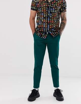 Green Cotton Asos Design ASOS DESIGN skinny pants in