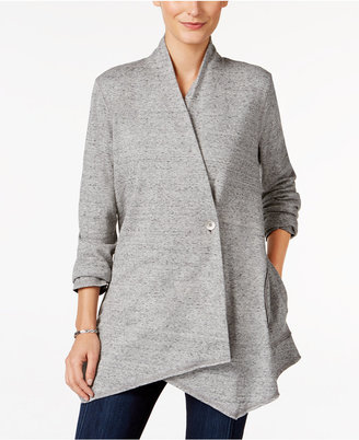 Style & Co. Draped Cardigan, Only at Macy's $59.50 thestylecure.com
