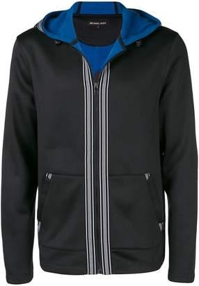 Michael Kors stripe trim hoodie