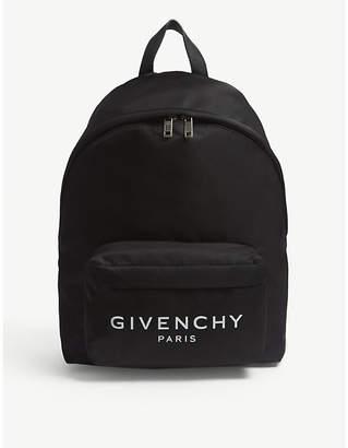 Givenchy Urban logo nylon backpack