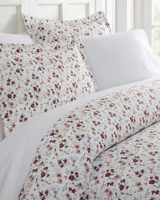Ienjoy Home Blossoms 3-Piece Duvet Cover Set, Queen