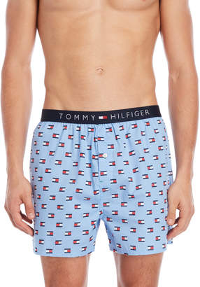 Tommy Hilfiger Woven Printed Boxers