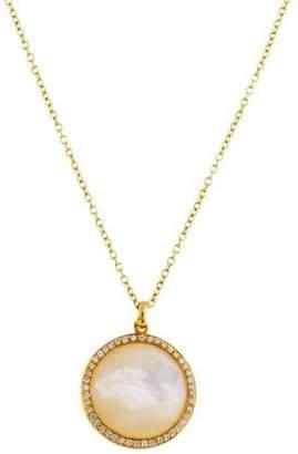 Ippolita 18K Mother of Pearl & Diamond Lollipop Pendant Necklace