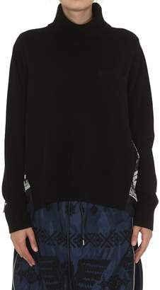 Sacai Native American Pleated Sweater