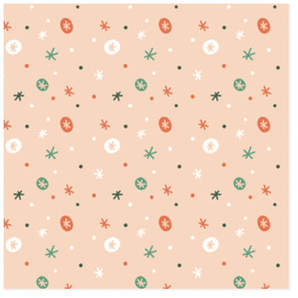 Snowflakes Self-Launch Wrapping Paper