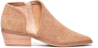 Lucky Brand Felix Cut Out Suede Bootie