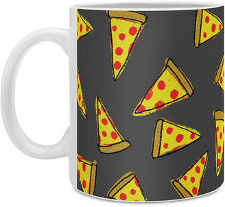 Deny Designs Leah Flores Pizza Party Coffee Mug