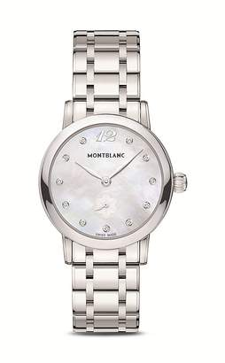 Montblanc Star Classique Lady Quartz Watch with Diamonds, 30mm