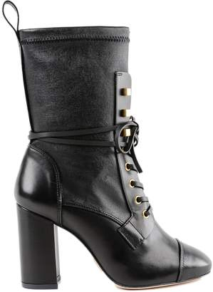 Stuart Weitzman High Heel Lace-up Boots