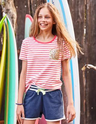 Boden Sequin Pocket T-shirt