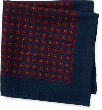 Ralph Lauren University Wool Pocket Square