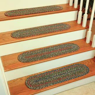Wildon Home Cheralyn Dark Taupe Stair Tread