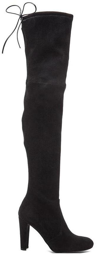 Stuart Weitzman Highland Boot in Black