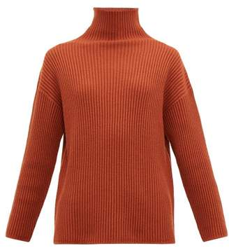 Max Mara Leisure - Bolivia Wool Sweater - Womens - Dark Orange