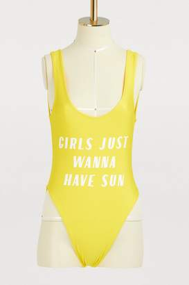 Private Party Girls just wanna have sun one-piece swimsuit
