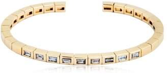 Luis Morais Diamond Baguette Cuff Bracelet